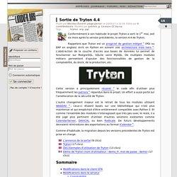 Sortie de Tryton4.4