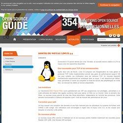 Sortie du noyau Linux 4.4