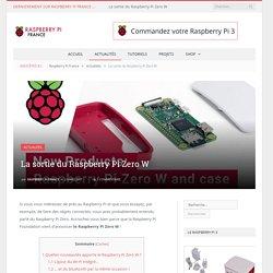 La sortie du Raspberry Pi Zero W