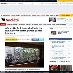 A la sortie de Sciences Po Paris, les femmes sont moins payées que les hommes
