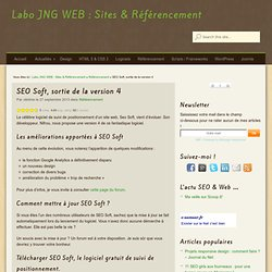 SEO Soft, sortie de la version 4