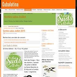 Sorties Salsa Juillet 2015 - Cubalatina