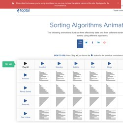 Sorting Algorithm Animations