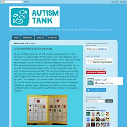 Autism Tank: Sorting NON-Identical Pictures and FREEBIE