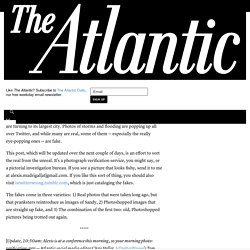 Sorting the Real Sandy Photos From the Fakes - The Atlantic