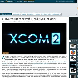 XCOM 2 sortira en novembre, exclusivement sur PC