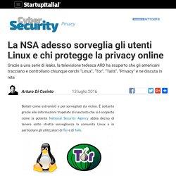 La NSA adesso sorveglia gli utenti Linux e chi protegge la privacy online
