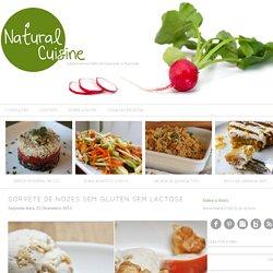 Sorvete de Nozes sem Gluten sem Lactose - Natural Chef Cuisine