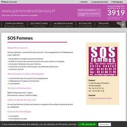 SOS Femmes - Parlons des violences