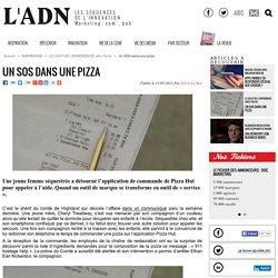 Un SOS dans une pizza - LE GOUT DE L'EXPERIENCE