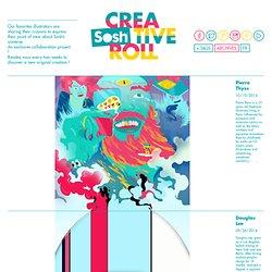 Favoriser la création artistique (Oeuvre collaborative par la communauté de Sosh sur Tumblr)