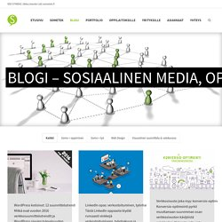 Blogi - sosiaalinen media, oppiminen ja työ