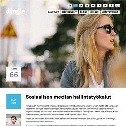 Sosiaalisen median hallintatyökalut