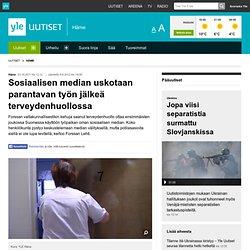 Sosiaalisen median uskotaan parantavan työn jälkeä terveydenhuollossa