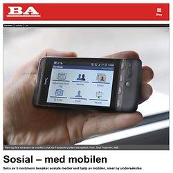 Sosial – med mobilen