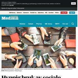 Hyppig bruk av sosiale medier påvirker unge jenters psykiske helse - Psykisk helse - Dagens Medisin