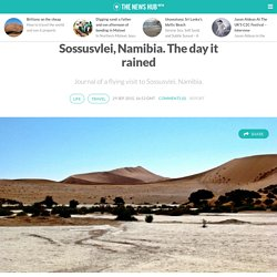 Sossusvlei, Namibia. The day it rained