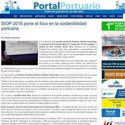 SIOP 2016 pone el foco en la sostenibilidad portuaria