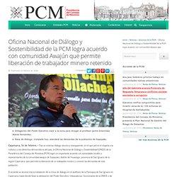 Oficina Nacional de Diálogo y Sostenibilidad de la PCM logra acuerdo con comunidad Awajún que permite liberación de trabajador minero retenido