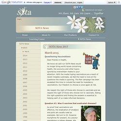 SOTA News March 2015