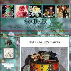 SötBella - Halloween tårta