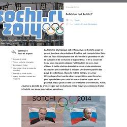 Sotchi or not Sotchi