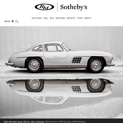 RM Sotheby's - r170 1955 Mercedes-Benz 300 SL Alloy Gullwing