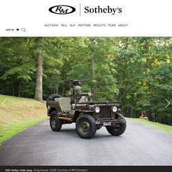 RM Sotheby's - r132 1951 Willys M38 Jeep