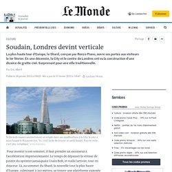 Soudain, Londres devint verticale