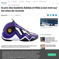La mort soudaine de Kobe Bryant a fait grimper le prix des baskets Adidas et Nike à son nom sur les sites de revente