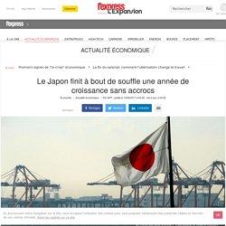 Le Japon finit à bout de souffle une année de croissance sans accrocs