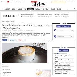 Le soufflé chaud au Grand Marnier : une recette d'Anne-Sophie Pic - L'Express Styles