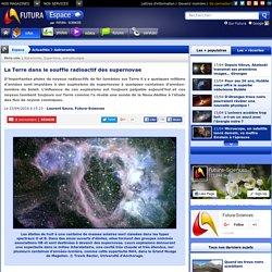 La Terre dans le souffle radioactif des supernovae