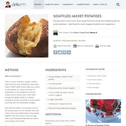 Souffled Jacket Potatoes