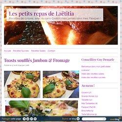Toasts soufflés Jambon & Fromage - RECETTE FLEXIPAN GUY DEMARLE - Conseillère Guy Demarle dans le Vaucluse (84)