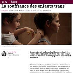 La souffrance des enfants trans'