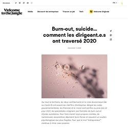 Dirigeant.e.s : 2020, l'année des souffrances invisibles