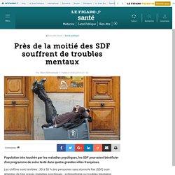 Près de la moitié des SDF souffrent de troubles mentaux
