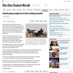Amish gang sought over hair-cutting assaults - Crime