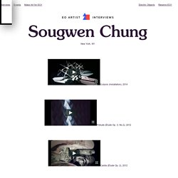 Sougwen Chung - Artist Interview Series - Electric Objects