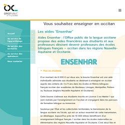Vous souhaitez enseigner en occitan - Ofici Occitan