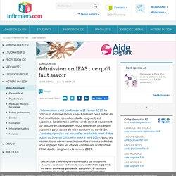 Vous souhaitez devenir aide-soignant : tout sur l'admission en IFAS
