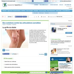 Des solutions contre les articulations sensibles