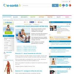 Soulager votre dos : exercices pour soulager et étirer votre dos avec e-sante.fr