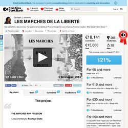 SOULAJAH presents LES MARCHES DE LA LIBERTE
