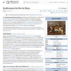 Soulèvement du Dos de Mayo