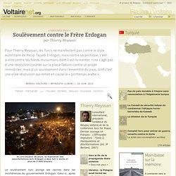 Soulèvement contre le Frère Erdogan
