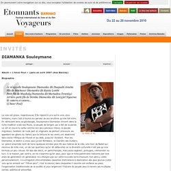 DIAMANKA Souleymane - Étonnants-Voyageurs
