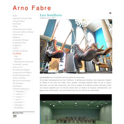 Arno Fabre - Les Souliers / installation sonore