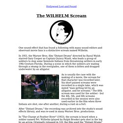 Sound Effects - The Wilhelm Scream